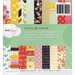"""American Crafts / Dear Lizzy 6"""" x 6"""" Paper Pad - Lucky Charm [35990]"""
