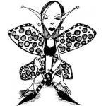 Stampotique Originals - [6107R] Leopard Queen