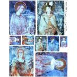 Joggles / Altered by Design Collage Sheets - Angels In Blue