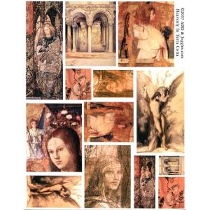 Joggles / Altered by Design Collage Sheets - Heavenly In Terracotta