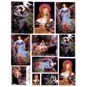 Joggles / Altered by Design Collage Sheets - Maidens Of Avalon