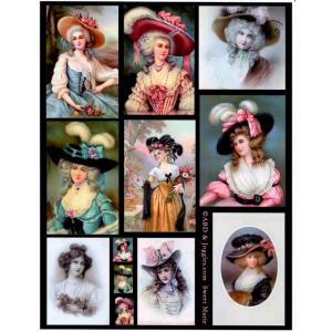 Joggles / Altered by Design Collage Sheets - Sweet Marie