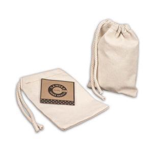 "Canvas Corp - [CVS3348] Natural Drawstring Bag 5"" x 7"""