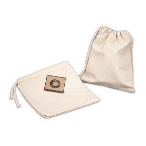"Canvas Corp - [CVS3349] Natural Drawstring Bag 8"" x 8"""