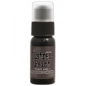 Tim Holtz Distress Paint - Black Soot