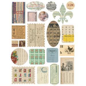 Melissa Frances - Paperworks Ephemera Stickers [GN379]