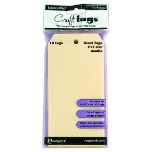 Ranger Inkssentials Craft Tags - Manilla Size 12 [ISM35237]