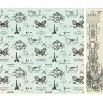 KaiserCraft Bonjour Collection - Mairie Paper [P740]