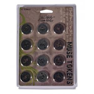 Idea-ology by Tim Holtz - [TH92676] Muse Tokens