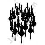 Joggles Stencils - Treescape [20-33725]