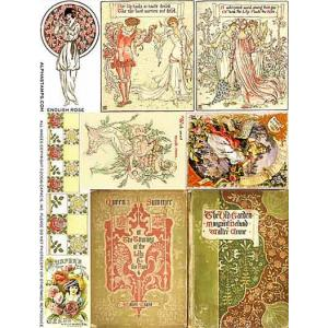Alpha Stamps Transparency - English Rose [612] - ON SALE!