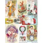 Alpha Stamps Collage Sheet - Health & Wealth [CS01-938] - ON SALE!