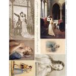 Alpha Stamps Fabric Sheet - Juliet - ON SALE!