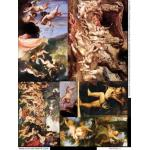 Alpha Stamps Collage Sheet - Putti 1 - ON SALE!