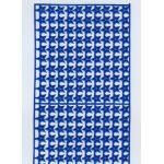 ARTchix German Scrap - Turquoise Star Border [G924]