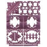 ARTchix German Scrap - Pink Embellishments [G928]