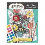 AdornIt Art Play Coloring Book - Chamberry