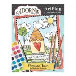 AdornIt Art Play Coloring Book - Creative Faith