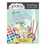AdornIt Art Play Coloring Book - Critter Friends