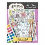 AdornIt Art Play Coloring Book - This 'n That