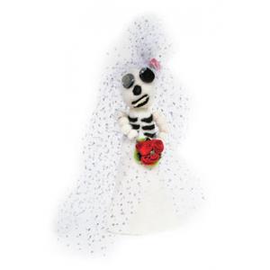 Artgirlz Wool Felt Cone KIT - Day of the Dead Bride