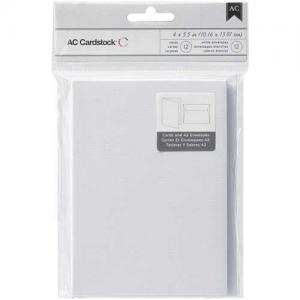 """American Crafts 4"""" x 5.5"""" Cards & Envelopes [366014"""