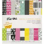 "American Crafts / Amy Tangerine 6"" x 6"" Paper Pad - Plus One [366829]"