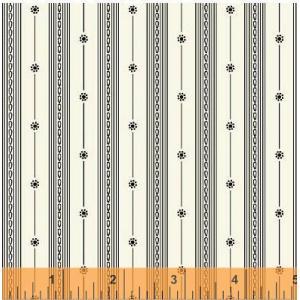 Aviary Fabric - [33570-1] Stripe - Linen White - ON SALE!