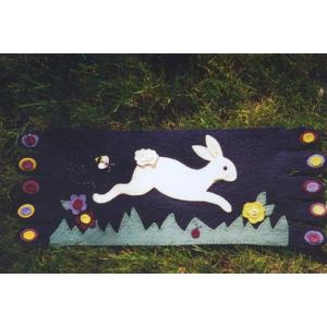 BBD - Leaping Bunny Table Rug #117