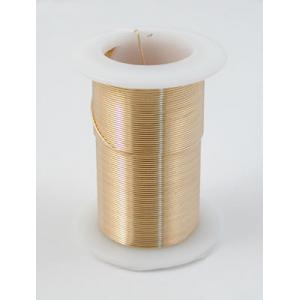 Tarnish Resistant Beading Wire - 26 Gauge Gold