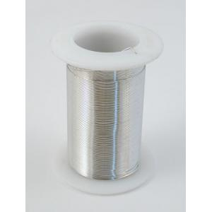 Tarnish Resistant Beading Wire - 18 Gauge Silver