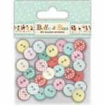 Belle & Boo Buttons [BBBN001]