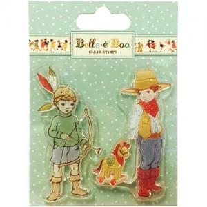 Belle & Boo Clear Stamps - Ellis & Easy [BBCS002]