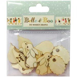 Belle & Boo Wooden Shapes [BBWC001]