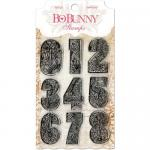 BoBunny Clear Stamp Set - Countdown