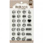 BoBunny Clear Stamp Set - Emoji