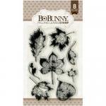 BoBunny Clear Stamp Set - Falling Leaves