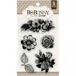 BoBunny Clear Stamp Set - Floral