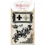 BoBunny Clear Stamp Set - Flourishes And Such