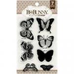 BoBunny Clear Stamp Set - Flutter