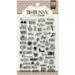 BoBunny Clear Stamp Set - Icons