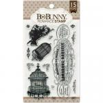 BoBunny Clear Stamp Set - Romance
