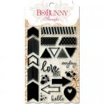 BoBunny Clear Stamp Set - To The Point