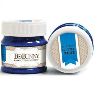 BoBunny Double Dot Glitter Paste - Blueberry