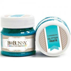 BoBunny Double Dot Glitter Paste - Caribbean