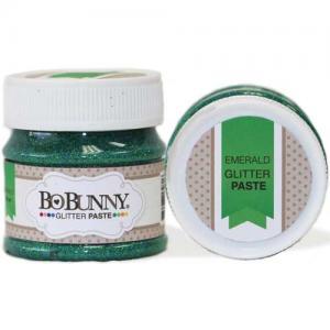 BoBunny Double Dot Glitter Paste - Emerald