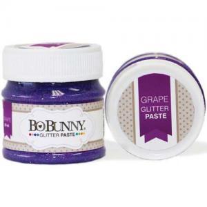 BoBunny Double Dot Glitter Paste - Grape
