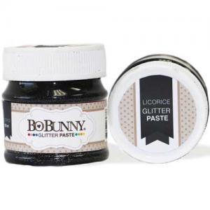 BoBunny Double Dot Glitter Paste - Licorice