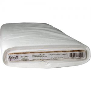 Bosal Non-Woven Featherweight Fusible by the Yard [312] White
