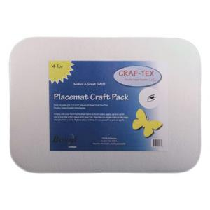 Bosal CRAF-TEX Placemat Craft Pack [PM-1] Rectangle